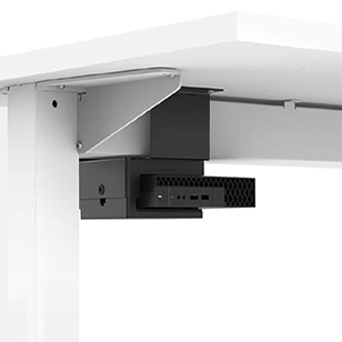 Thin Client Holder with Crossbeam Mount