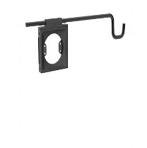 Accessory Holder With Universal Accessory Bracket, Black